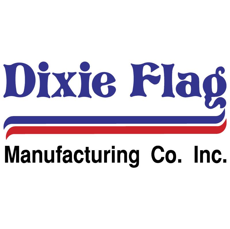 Dixie Flag Manufacturing vector logo