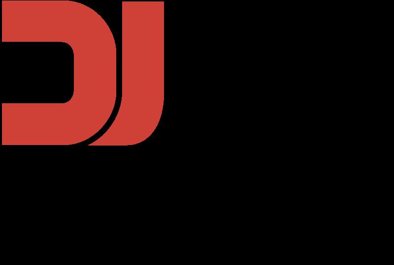 DJ SETS COM vector logo