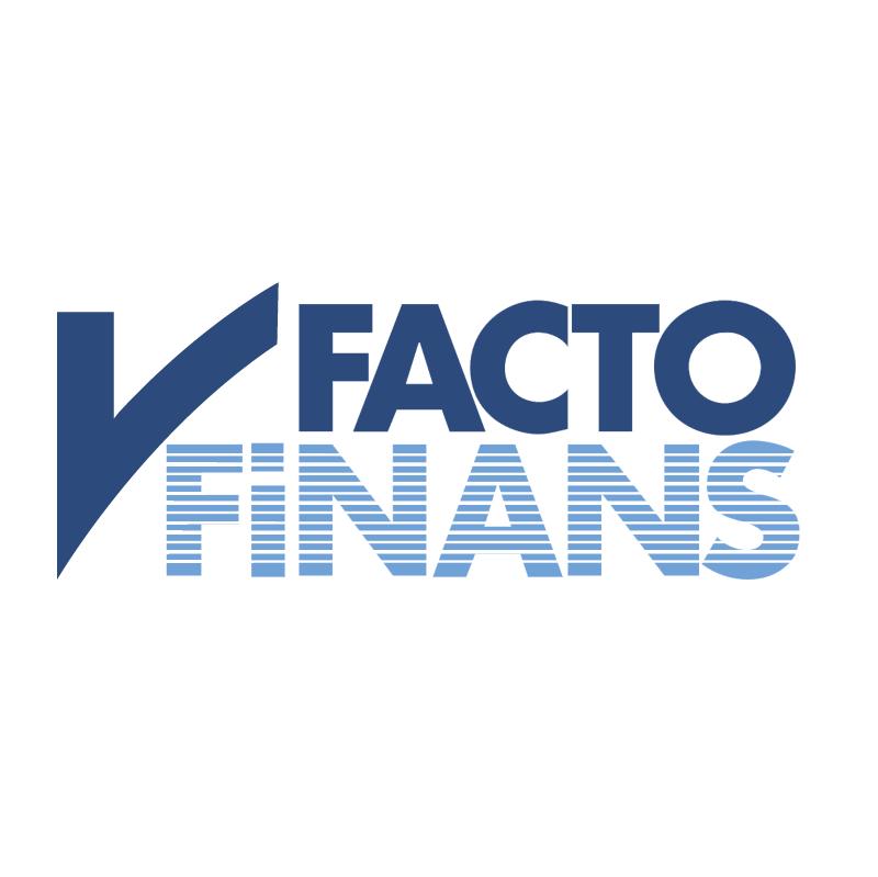 Facto Finans vector