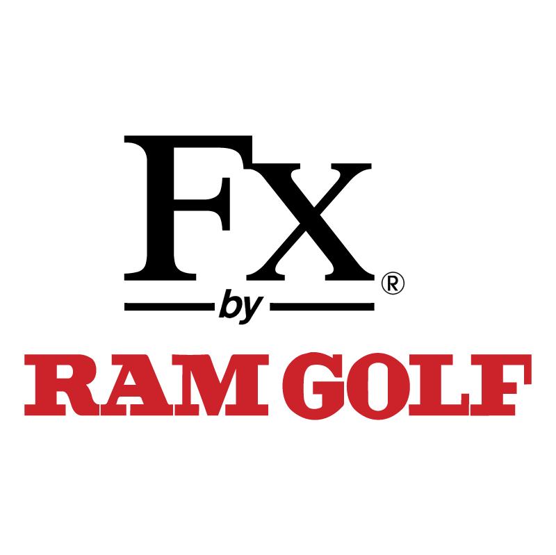 FX by Ram Golf vector logo