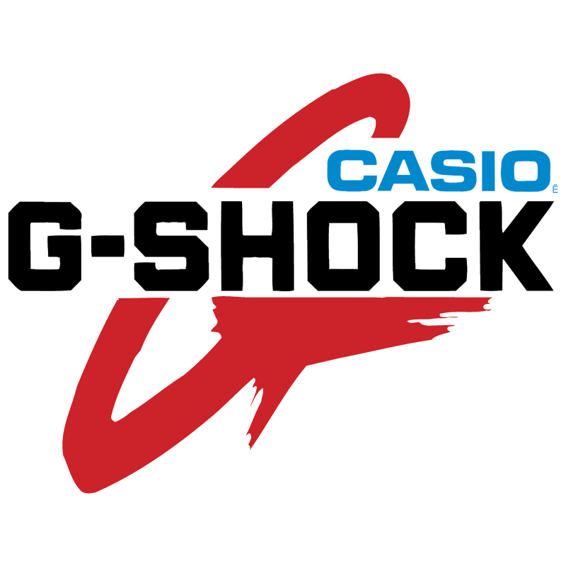 G Shock Casio vector