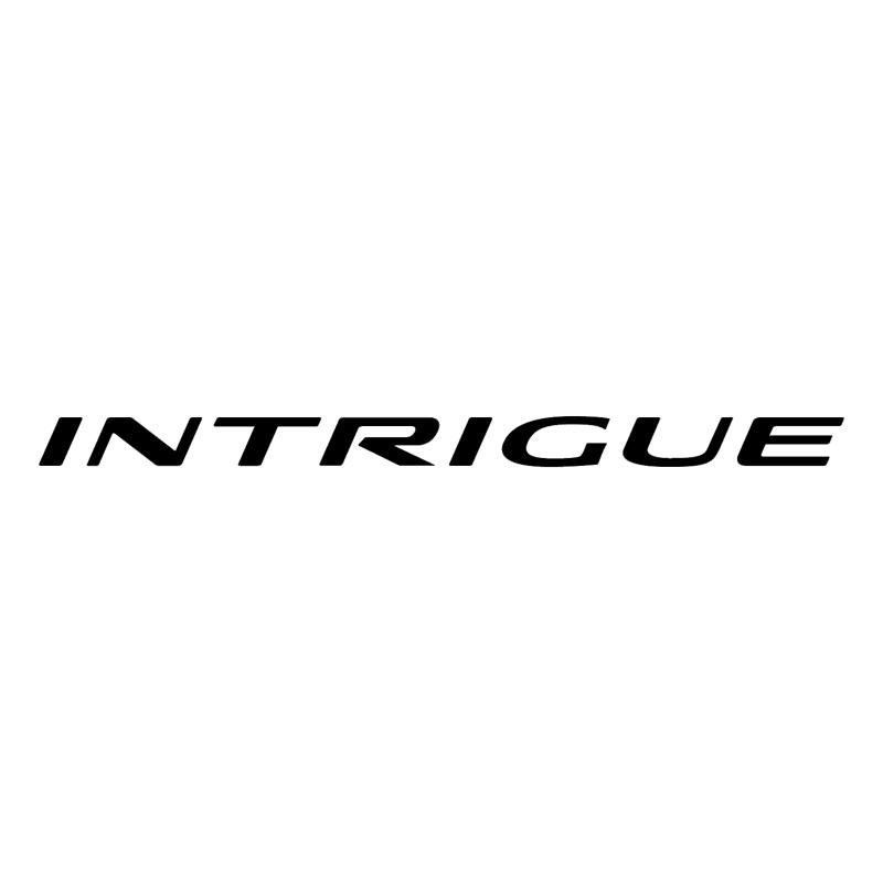 Intrigue vector logo