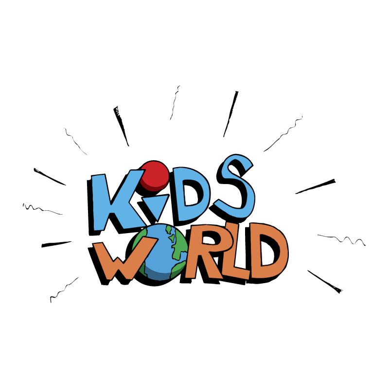 Kids World vector