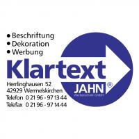 Klartext Jahn Werbetechnik vector