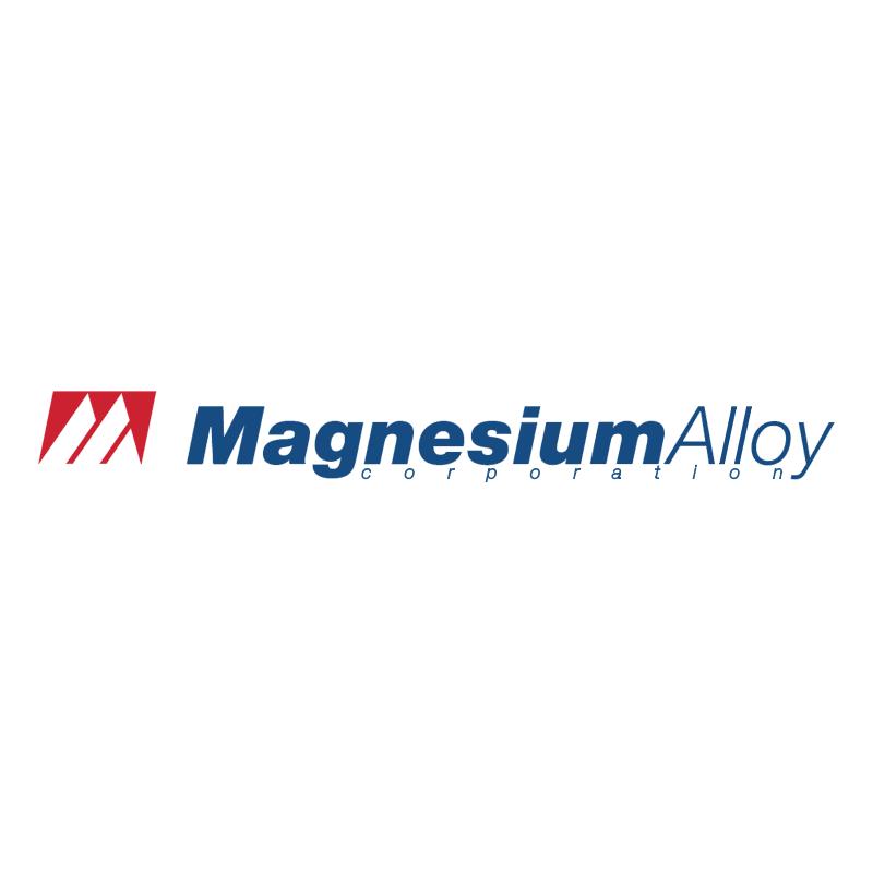 Magnesium Alloy vector logo