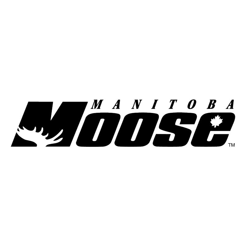 Manitoba Moose vector