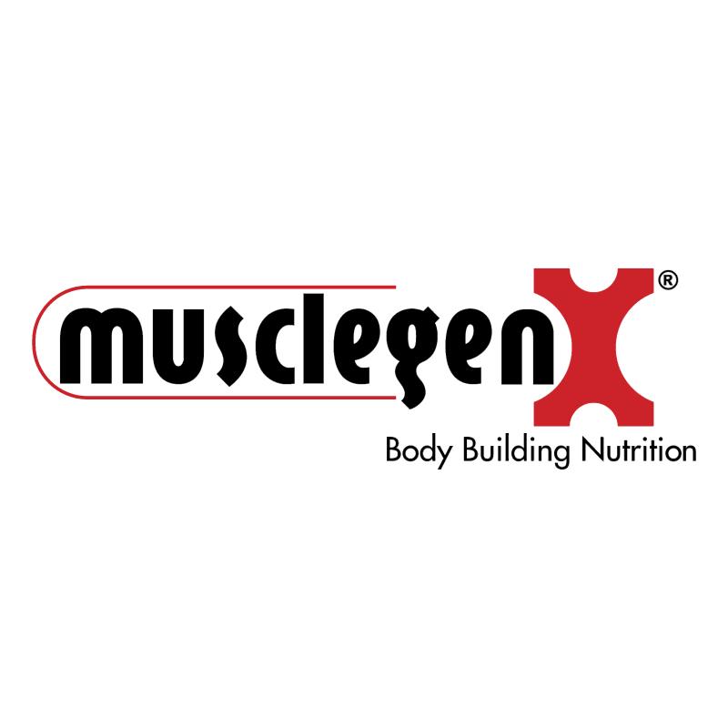 MusclegenX vector logo