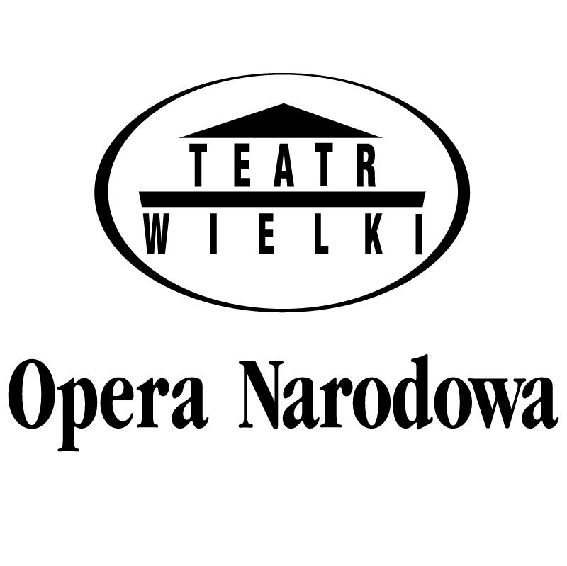 Opera Narodowa vector