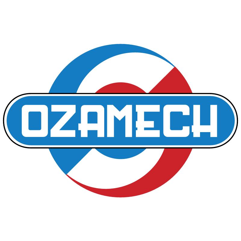 Ozamech vector logo