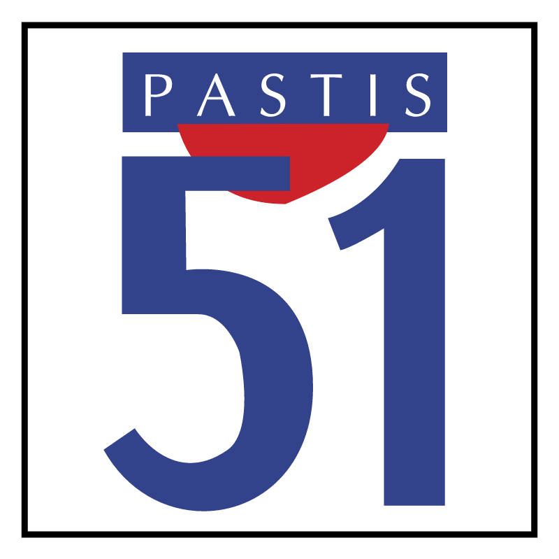 Pastis 51 vector