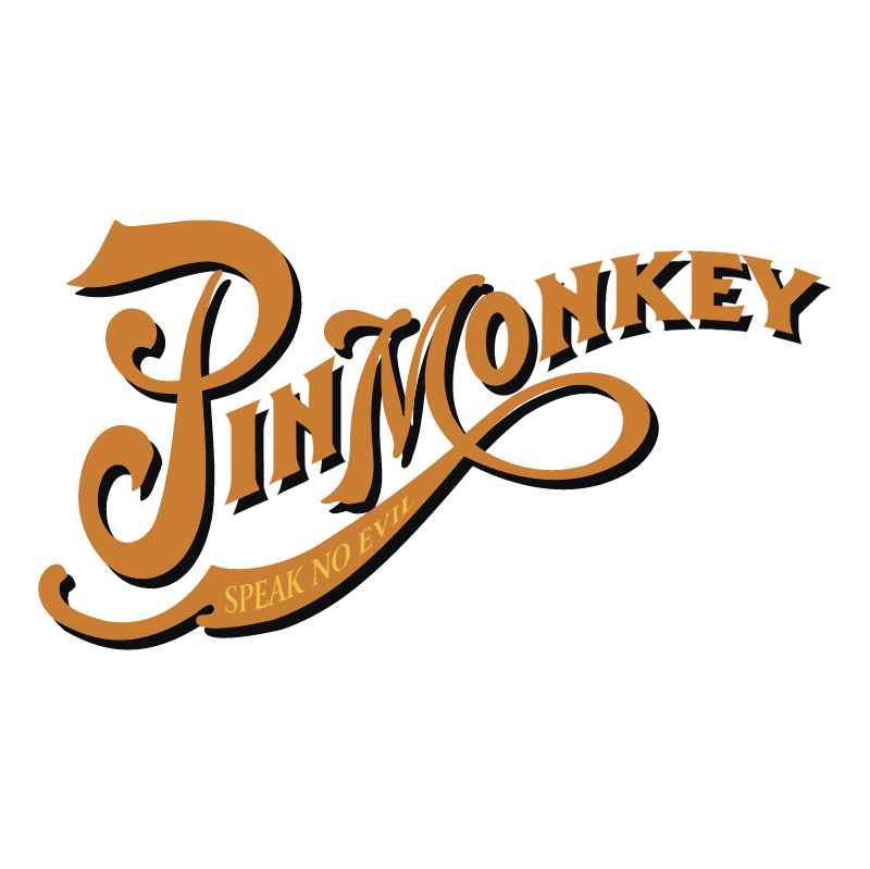 Pin Monkey vector