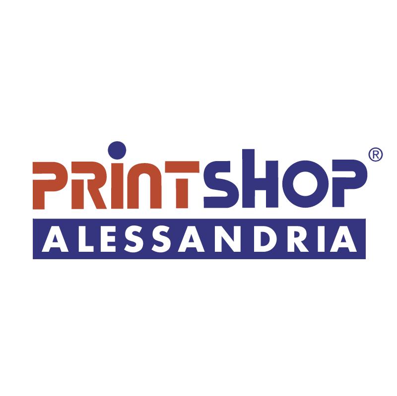 Printshop Alessandria vector
