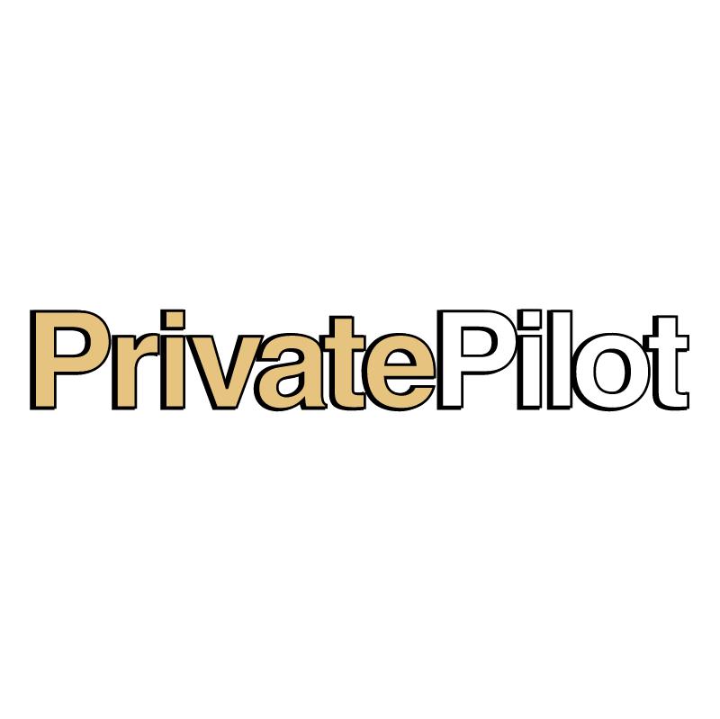 Private Pilot vector logo