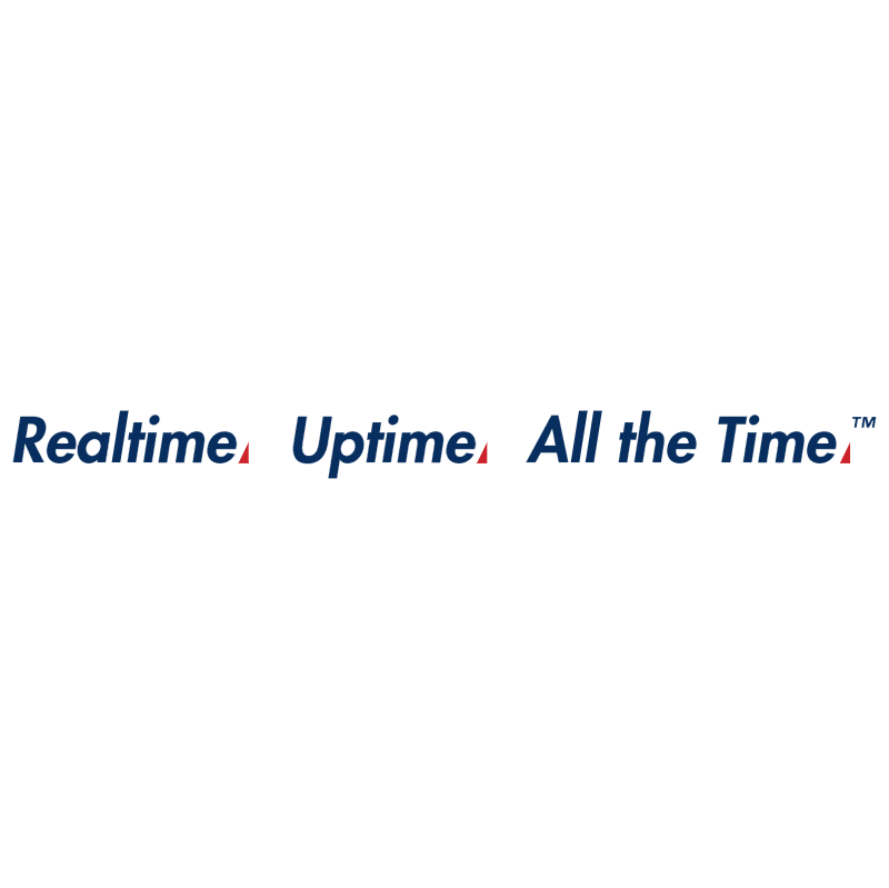 Realtime Uptime All the Time vector