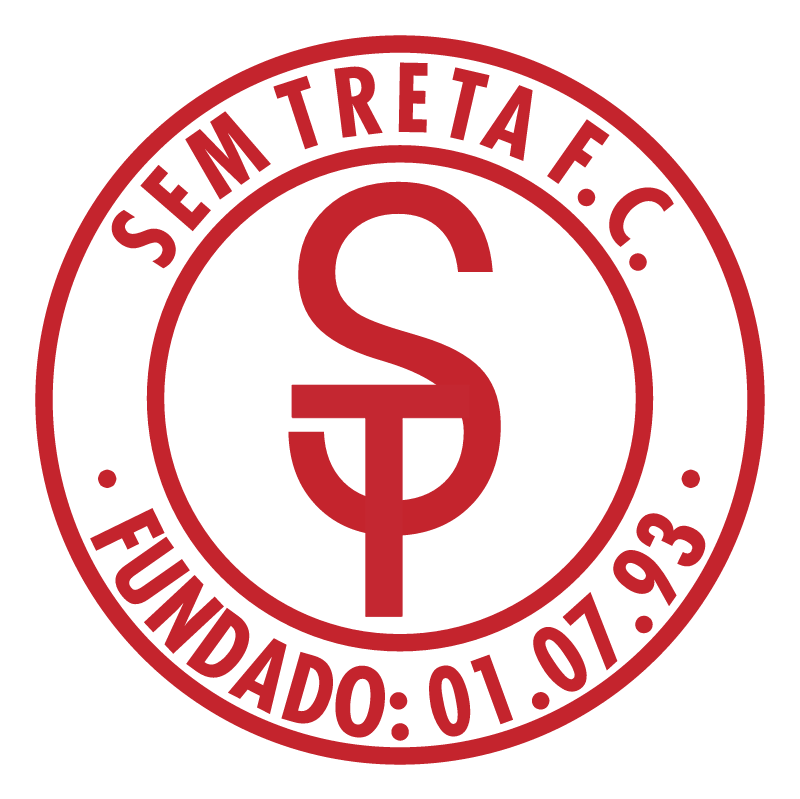 Sem Treta Futebol Clube de Sao Mateus SP vector
