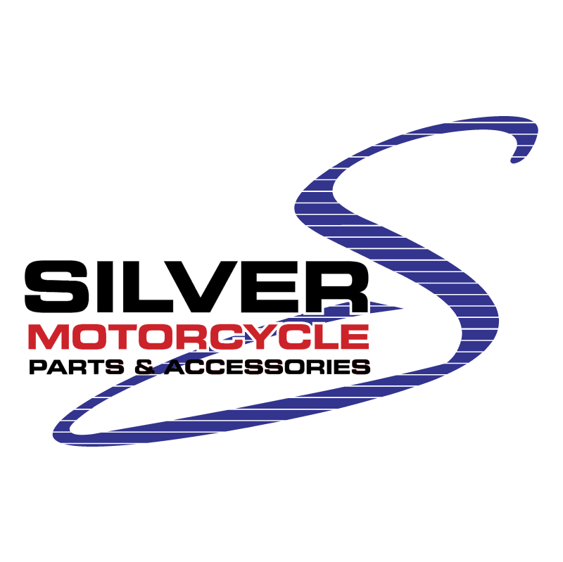 Silver Motorcycle vector
