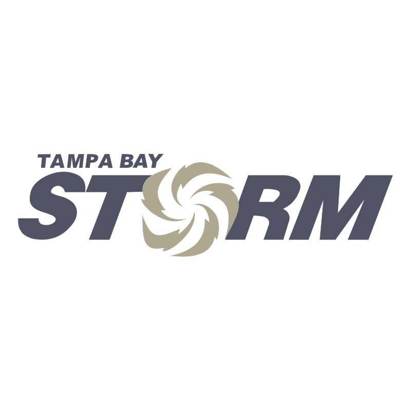 Tampa Bay Storm vector logo