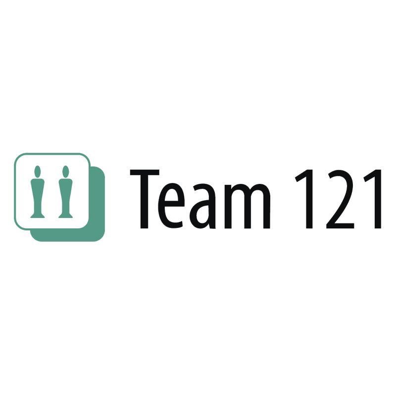 Team 121 vector