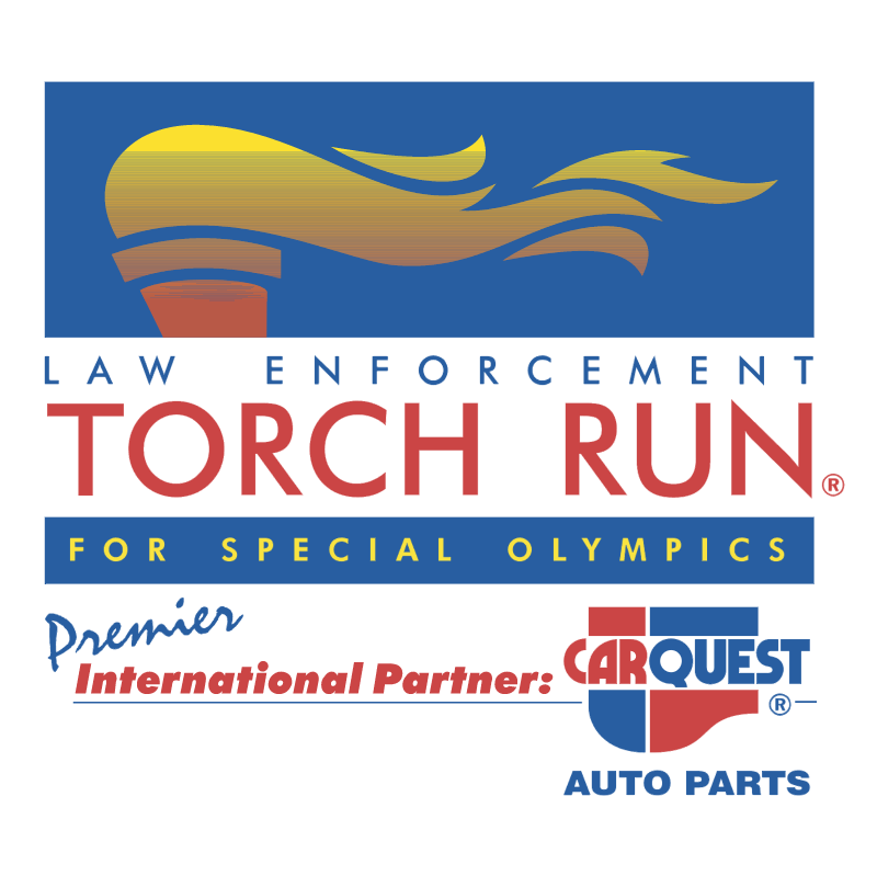 Torch Run For Special Olympics vector logo
