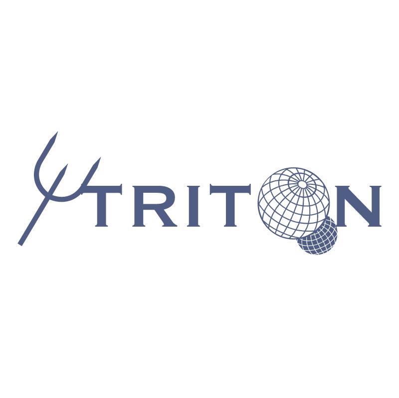 Triton vector logo
