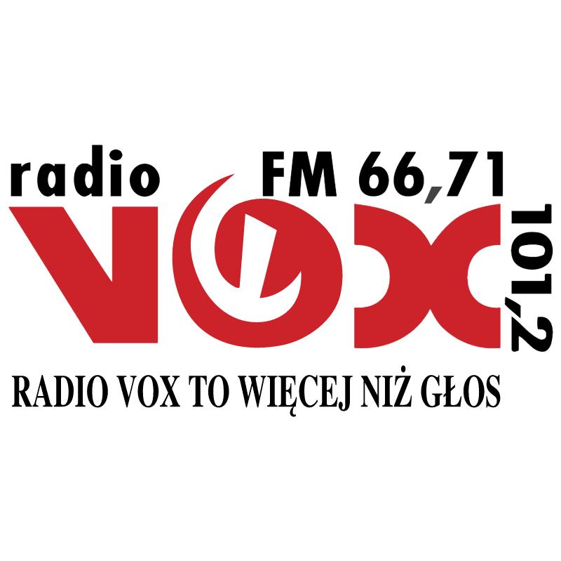 Vox Radio vector