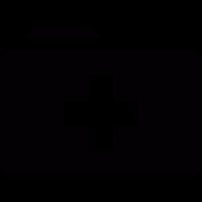 Medic folder vector logo