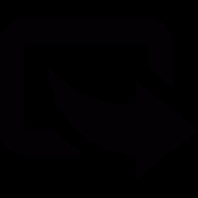 Export arrow vector logo