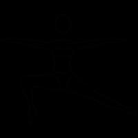 Yoga posture vector