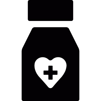 Medicine for heart vector logo