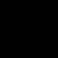 Badge minus vector