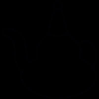Religious symbol, IOS 7 vector logo