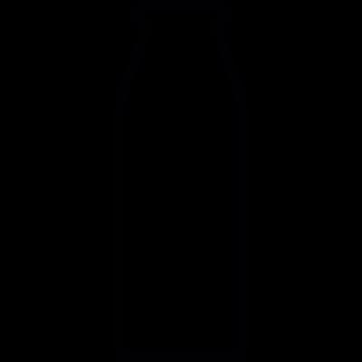 Bottle shape, IOS 7 interface symbol vector logo