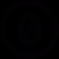 Zero Button vector