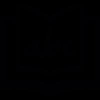 Alphabet book vector