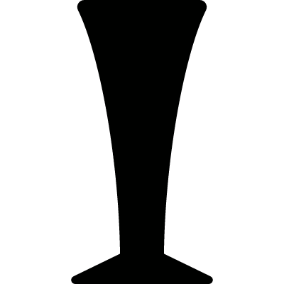 Pilsner Glass vector logo