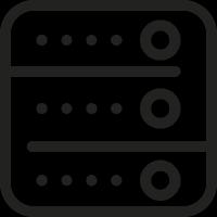 Square Server vector