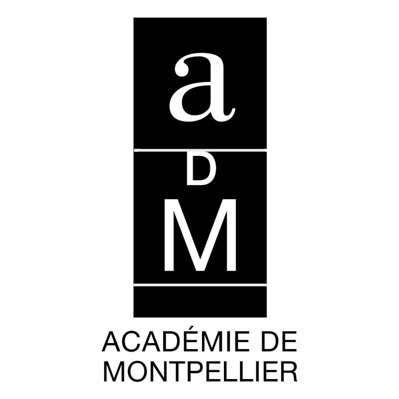Academie de Montpellier 51901 vector
