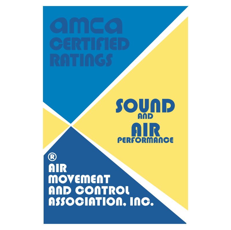 Amca Certified Ratings 38481 vector