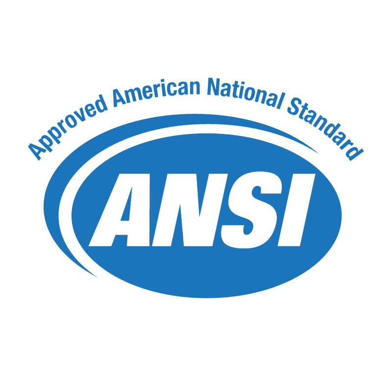ANSI Approved American National Standard vector