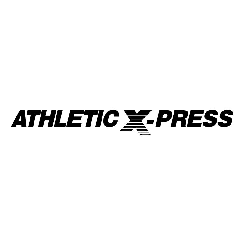 Athletic X press 55184 vector