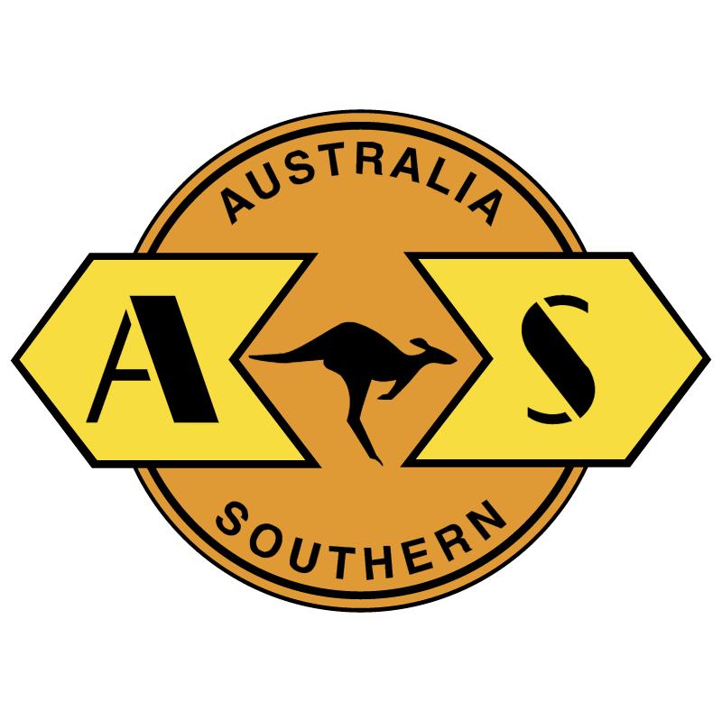 Australia Southern Railroad vector