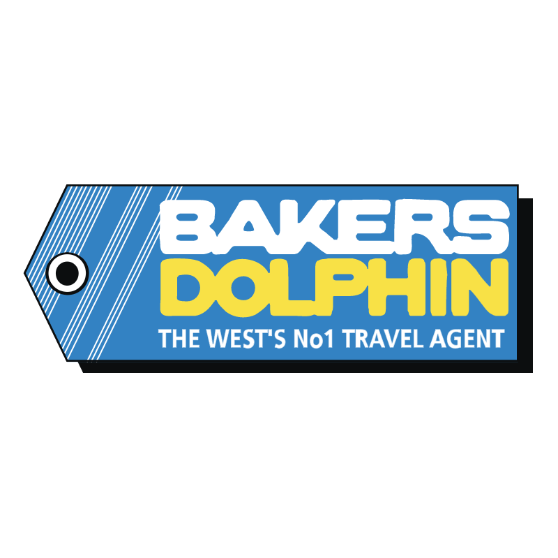 Bakers Dolphin vector