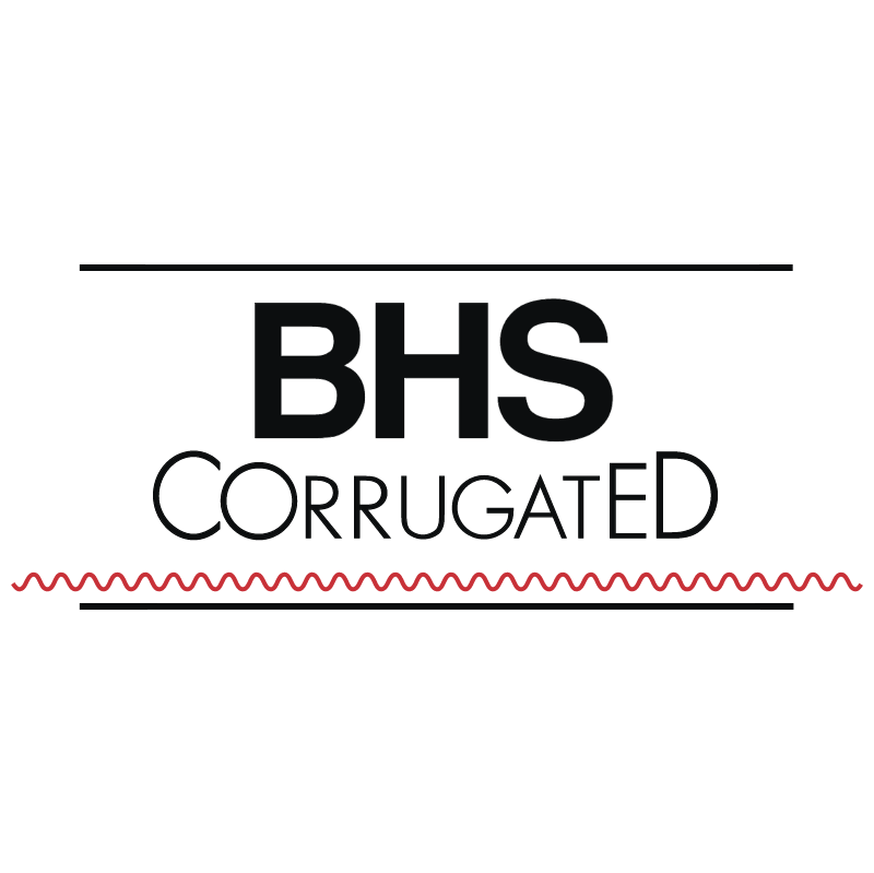 BHS Corrugated vector
