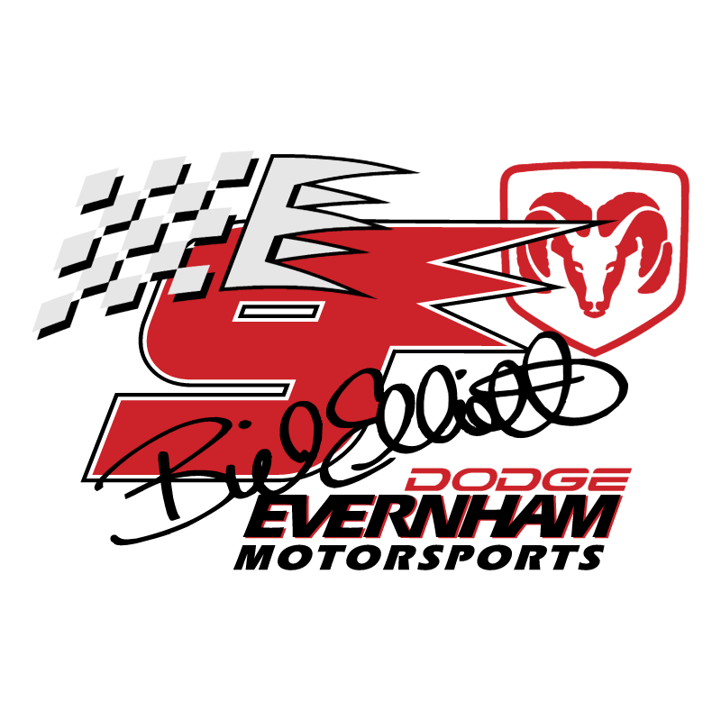 Bill Elliott 83291 vector logo