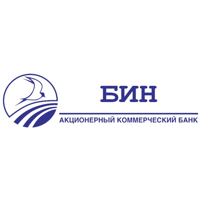 BIN Bank vector