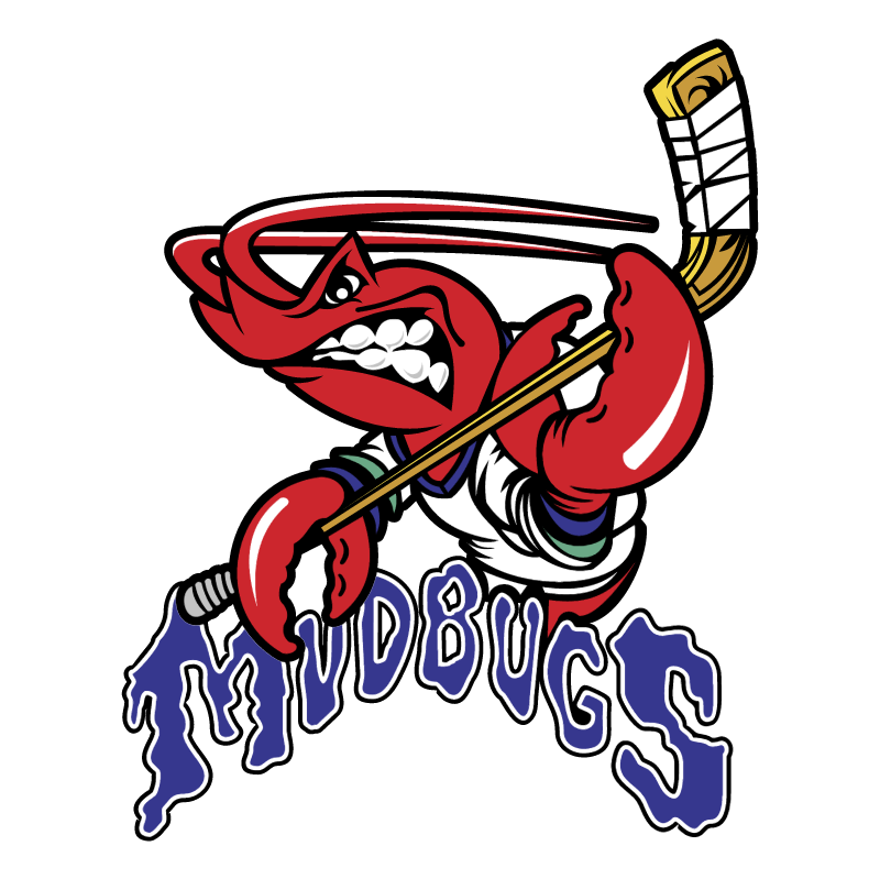 Bossier Shreveport Mudbugs vector