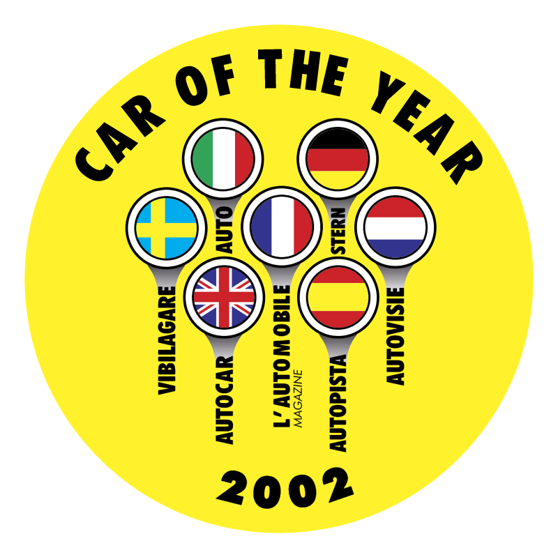 Car of the Year vector