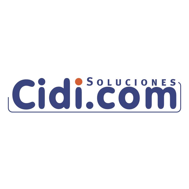 Cidi com vector logo