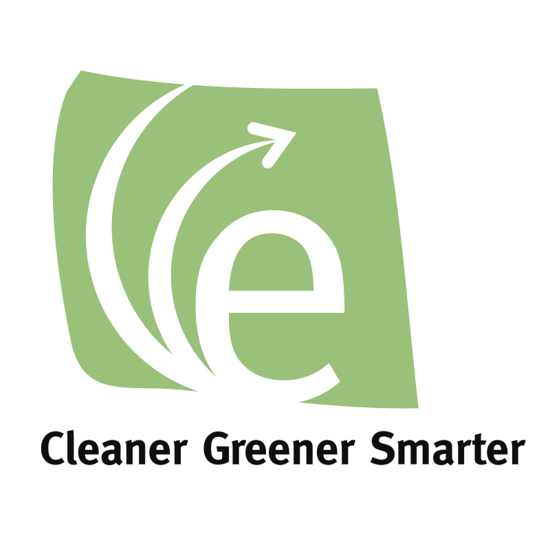 Cleaner Greener Smarter vector