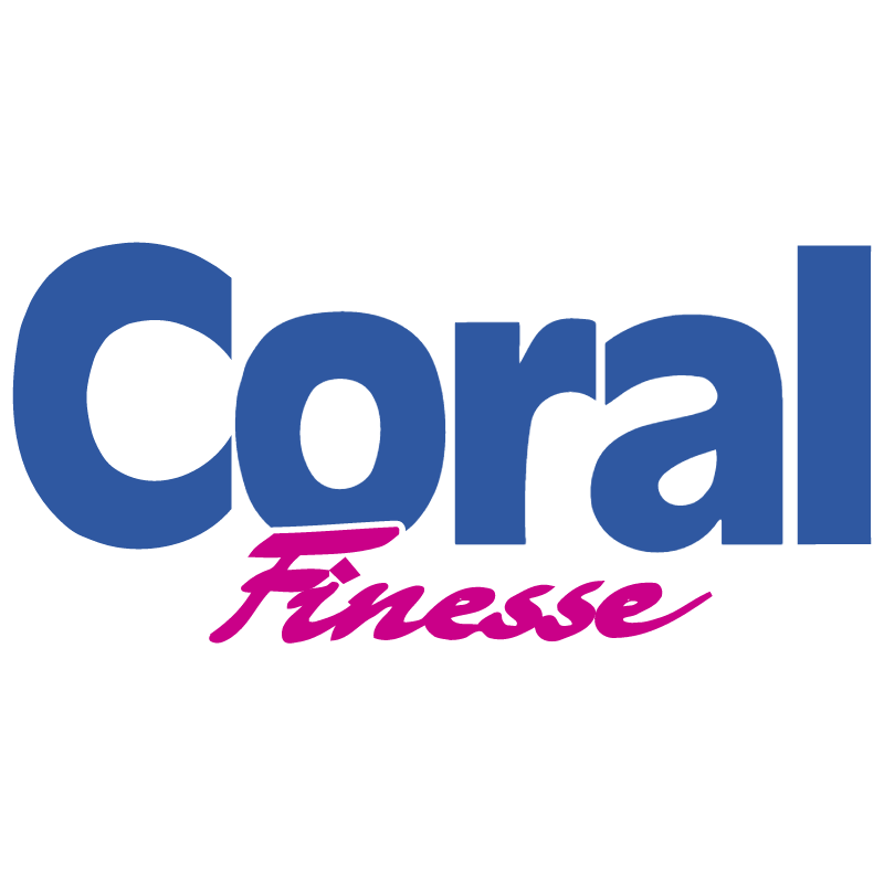 Coral Finesse 1301 vector logo